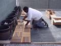 Installing Ipe Tiles