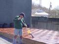 Oiling Ipe Tiles