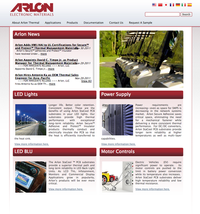 Arlon-Thermal Homepage
