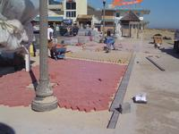 Pavestone 4X8 Red, Buff and Chicago Blend