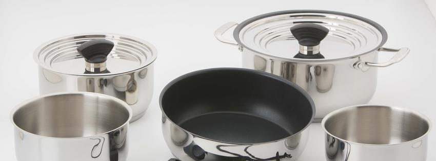 Galleyware Nesting 14-pc. Induction Cookware Set