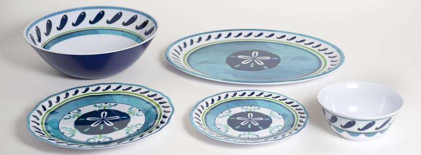 Nautical Decor Amp Gifts Nautical Melamine Dinnerware