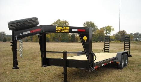 EQUIPMENT TRAILER GOOSENECK