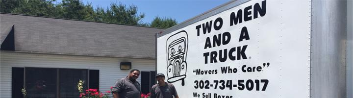 2 Men and a truck-Movers for Moms