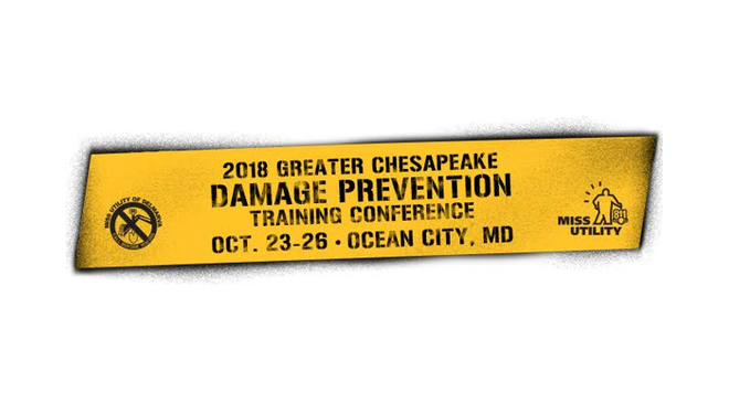 *REGISTER NOW* - Greater Chesapeake Damage Prevention Training Conference - CLICK for Info