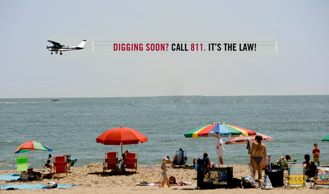 Warm weather is here. Dig safely - contact 811!