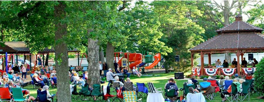Summer concerts in the park...