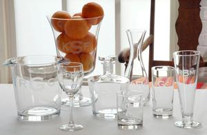 Monogramed Glassware Image