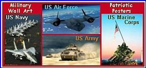 Patrotic Military Wall Art Pictures & Posters Image