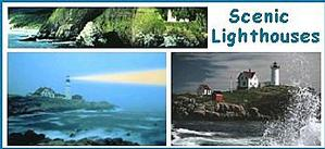 Scenic Lighthouse Posters Image