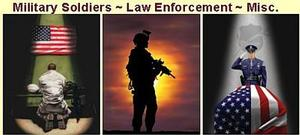 US Military Wall Art and Law Enforcement Pictures Image