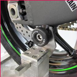 GB Racing - Swingarm Spools - Universal - 10 x 1.25mm Thread/Injection Molded/High Impact/Low Wear/Most Kawasaki Models