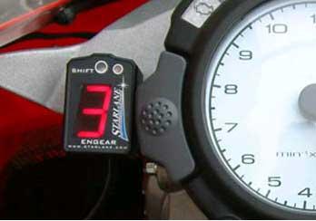 Superior Engear Digital Gear Indicator With Shift Light Design
