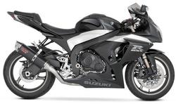 GSXR1000 2009 CS ONE SINGLE BLACK CERAMIC SLIPON