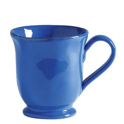 Marina Blu Footed Coffee Mug
