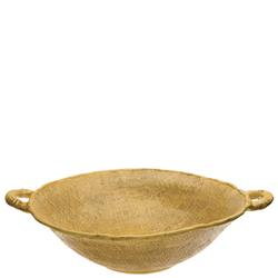 Jute Large Handled Serving Bowl