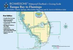 Tampa Bay to Flamingo Waterproof Chartbook, 1st Edition