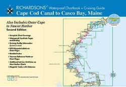 Cape Cod Canal to Casco Bay, Maine Waterproof Chartbook, 2nd Edition