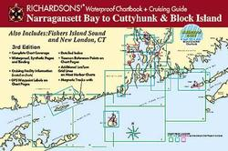 Narragansett Bay to Cuttyhunk & Block Island Waterproof Chartbook, 3rd Edition