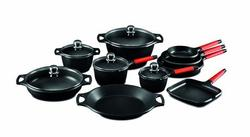 Castey Induction 15-pc. Cookware Set