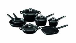 Castey 11-pc. Induction Cookware w/detachable handles