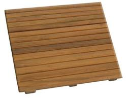 Teak Shower Mat - Small