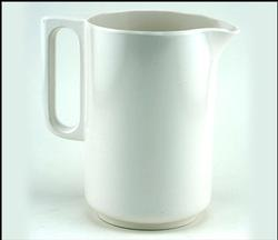 White 1 Liter Pitcher