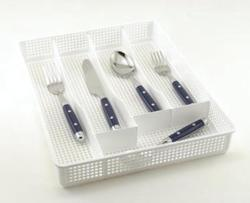 5 Slot Flatware Tray