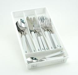 White Anchor Flatware Sets