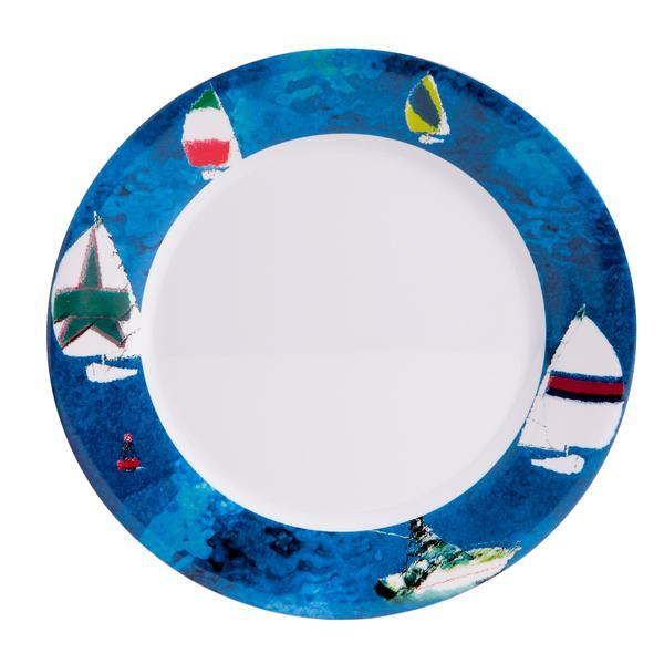 10  Dinner - Spinnaker  sc 1 st  Galleyware & Melamine Plates - 10