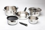 Galleyware 12-Piece Stainless Steel Cookware Set