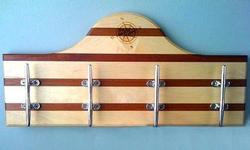 Nautical Cleat Wall Rack