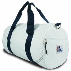 Blue Medium Round Duffel Bag