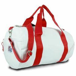 Red Medium Round Duffel Bag