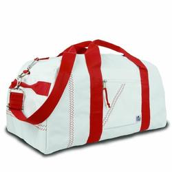 Red Large Square Duffel Bag