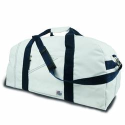 Blue X-Large Square Duffel Bag