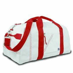 Red X-Large Square Duffel Bag