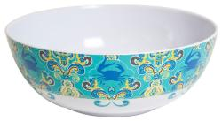 "Paisley Crab 11"" Bowl"