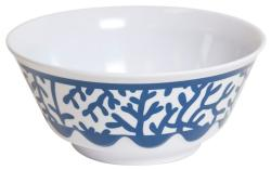 Blue Coral Soup Bowl