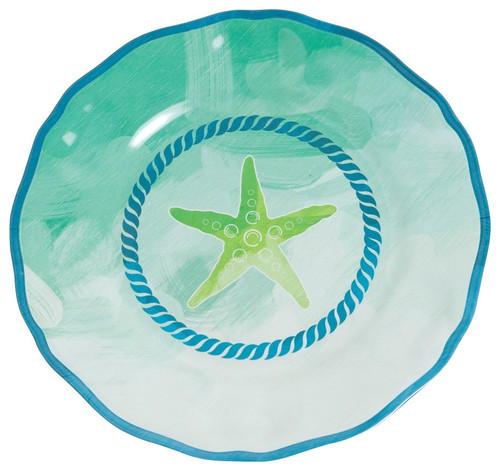 Starfish 9\  Salad  sc 1 st  Galleyware & Starfish Salad Plates | Starfish Melamine Plates