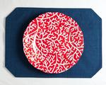 Red Coral 11: Plate