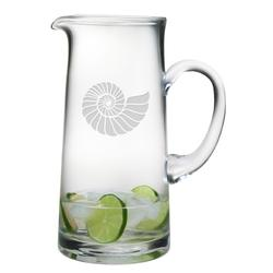 Nautilus Shell Tankard Pitcher
