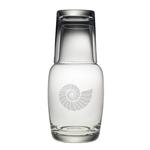 Nautilus Shell Night Bottle Set