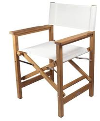 SeaTeak Directors Chair - White Seat Cover 60067