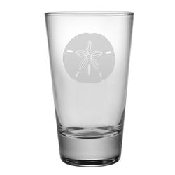 Sand Dollar Tapered HiBall Glasses