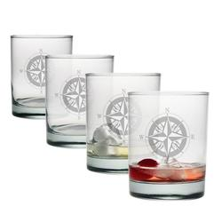 Compass Rose DOR Glasses