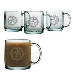 Compass Rose Coffee Mugs