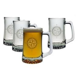 Compass Rose Pub Beer Mugs