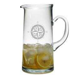 Compass Rose Tankard Pitcher