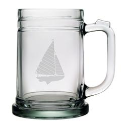 Sailboat Tankard Beer Mugs